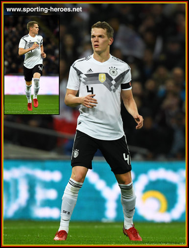 Matthias GINTER - Germany - 2018 World Cup Qualifying games.