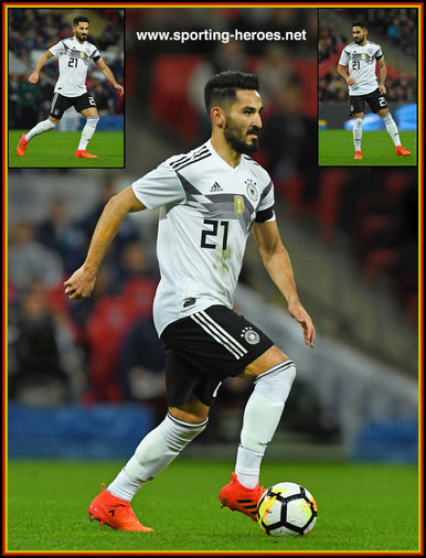 Ilkay GUNDOGAN - Germany - 2018 World Cup Qualifying games.