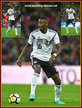 Antonio RUDIGER - Germany - 2018 World Cup Qualifying games.