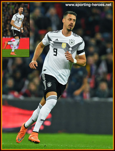 Sandro WAGNER - Germany - 2018 World Cup Qualifying games.