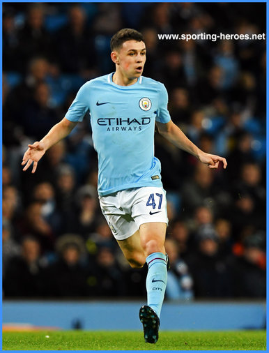 Phil FODEN - Manchester City FC - 2017/18 Champions League.