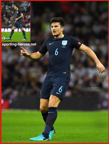 Harry MAGUIRE - England - 2017 Autumn Internationals at Wembley.