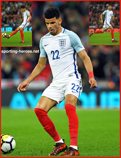 Dominic SOLANKE - England - 2017 Autumn Internationals at Wembley
