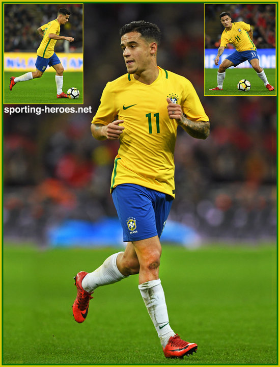 Philippe COUTINHO - 2018 FIFA World Cup Qualifying Games