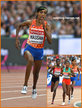 Sifan HASSAN - Netherlands - Bronze medal in 5,000m 2017 World Championships.