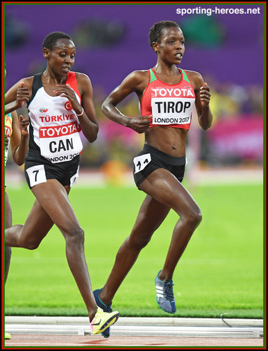 Agnes JEBET TIROP - Kenya - 2017 bronze medal at World Championships