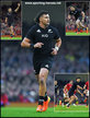 David HAVILI - New Zealand - International Rugby Union Caps.