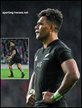 Seta TAMANIVALU - New Zealand - International Rugby Union Caps.