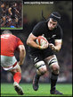 Matt TODD - New Zealand - International Rugby Union Caps.