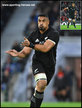 Jerome KAINO - New Zealand - International rugby caps. 2015 - 2017