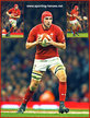 Cory HILL - Wales - International Rugby Union Caps.
