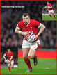 Hadleigh PARKES - Wales - International Rugby Union Caps.
