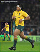 Allan ALAALATOA - Australia - International Rugby Union Caps.
