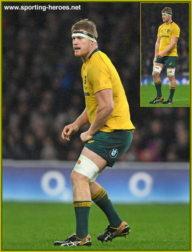 Matt PHILIP - Australia - International Rugby Union Caps.