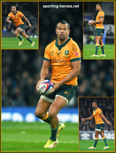Kurtley Beale - Australia - International Rugby Union Caps. 2016-