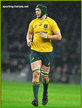 Rob SIMMONS - Australia - International Rugby Union Caps. 2017-