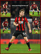 Ryan FRASER - Bournemouth - League apperances.