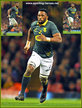 Siya KOLISI - South Africa - International Rugby Union Caps.