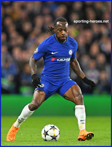Victor Moses - Chelsea FC - 2017/18 Champions League.