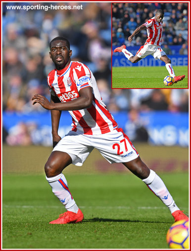 Badou NDIAYE - Stoke City FC - Premier League Appearances