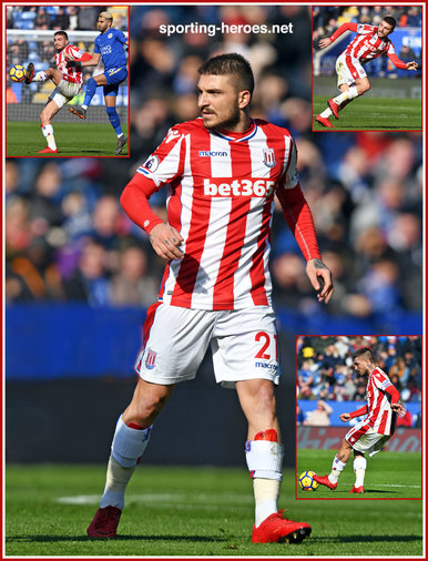 Kostas STAFYLIDIS - Stoke City FC - Premier League Appearances