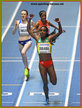 Genzebe DIBABA - Ethiopia - 1500m & 3000m 2018 Indoor World Champion.