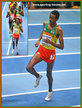 Yomif KEJELCHA - Ethiopia - 2018 World 3,000m Indoor Champion.