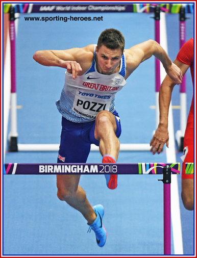 Andrew POZZI - Great Britain & N.I. - World Indoor 60m hurdles Champion in 2018
