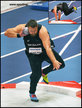 Tomas WALSH - New Zealand - 2018 World Indoor shot put Champion.