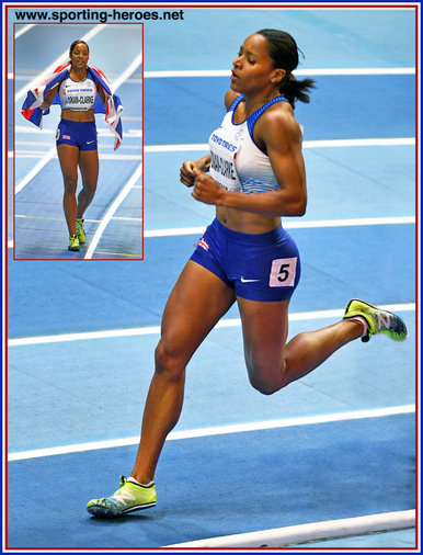 Shelayna OSKAN-CLARKE - Great Britain - 800m bronze medal at 2018 World Indoor Championships.
