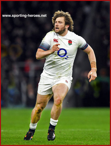 Alec HEPBURN - England - International rugby caps.