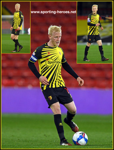 Will HUGHES - Watford FC - League Appearances