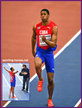 Juan-Miguel ECHEVARRIA - Cuba - 2018 World Indoor long jump champion.