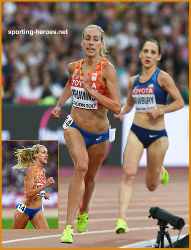 Susan KRUMINS - Netherlands - 5th & 8th in two finals at 2017 World Athletics Champions.