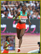 Senbere TEFERI - Ethiopia - Fourth in 5,000m at 2017 World Athletics Championships.