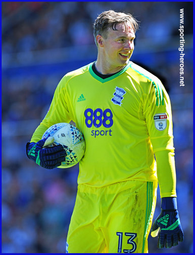 David Stockdale - Birmingham City FC - League appearances.