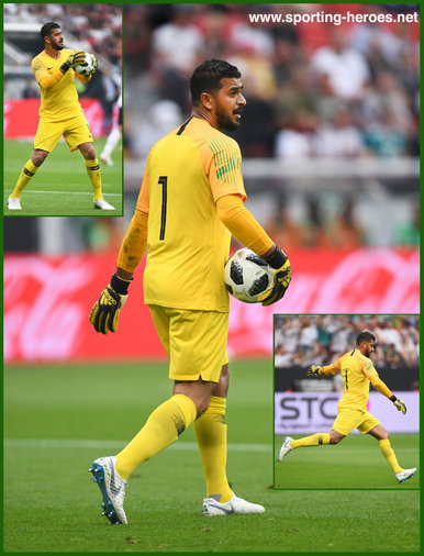 Abdullah AL-MAYOUF - Saudi Arabia - 2018 FIFA World Cup games.
