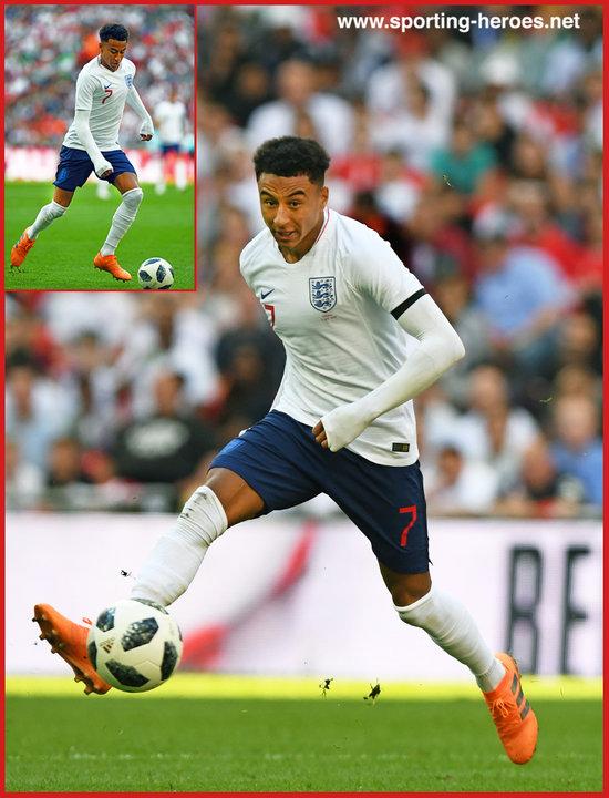 Jesse LINGARD - 2018 FIFA World Cup games. - England c7dda0868
