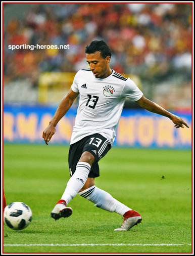 Mohamed ABDEL-SHAFY - Egypt - 2018 FIFA World Cup games.