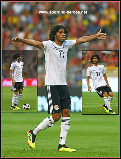Mohamed ELNENY - Egypt - 2018 FIFA World Cup games.