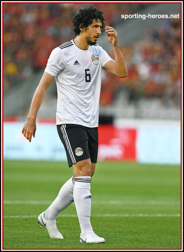 Ahmed HEGAZI - Egypt - 2018 FIFA World Cup games.