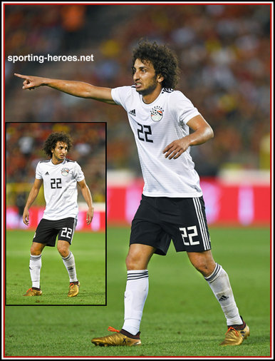 Amr WARDA - Egypt - 2018 FIFA World Cup games.