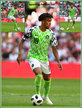 Alex IWOBI - Nigeria - 2018 FIFA World Cup games.