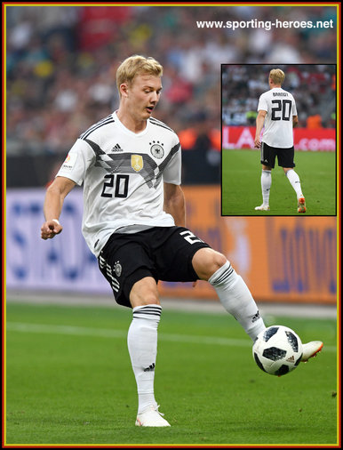 Julian BRANDT - Germany - 2018 FIFA World Cup games.