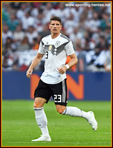 Mario Gomez - Germany - 2018 FIFA World Cup games.