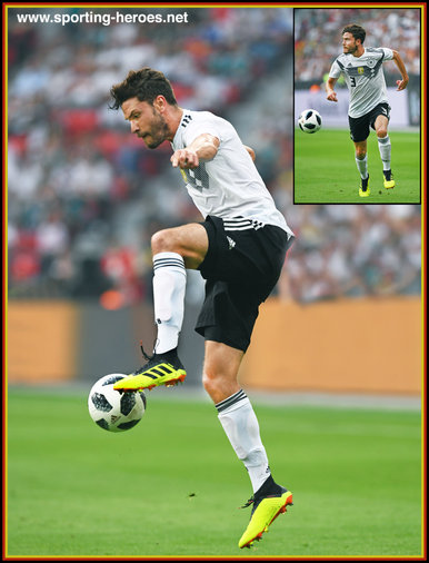 Jonas HECTOR - Germany - 2018 FIFA World Cup games.