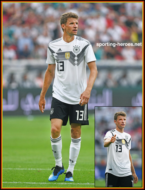 new arrival d411a 74e26 Thomas MULLER - 2018 FIFA World Cup games. - Germany