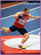 Tomas STANEK - Czech Republic - 3rd in shot put at 2018 World Indoor Championships.
