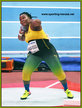 Danniel THOMAS-DODD - Jamaica - Shot put silver medal at 2018 World Indoor Championships.