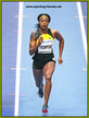 Elaine THOMPSON - Jamaica - 4th. at 2018 Indoor World Championships.